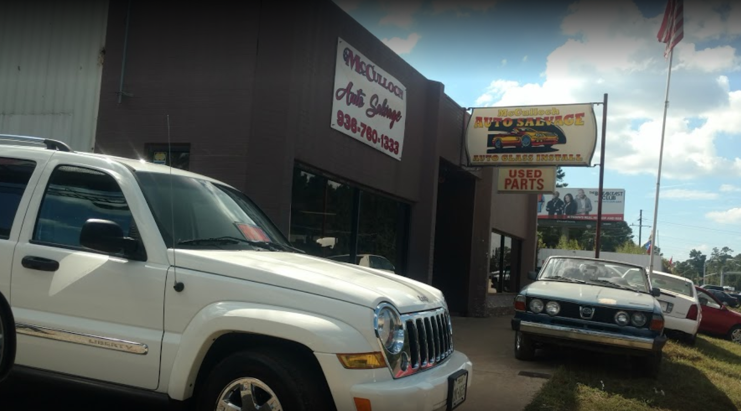 Used Auto Parts Mcculloch Salvage Car
